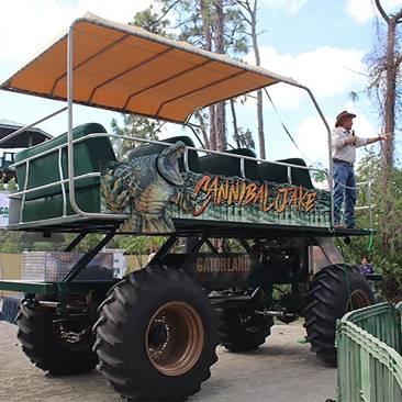 "Orlando's Gatorland's ""Stompin-Gator-Off-Road-Adventure"""