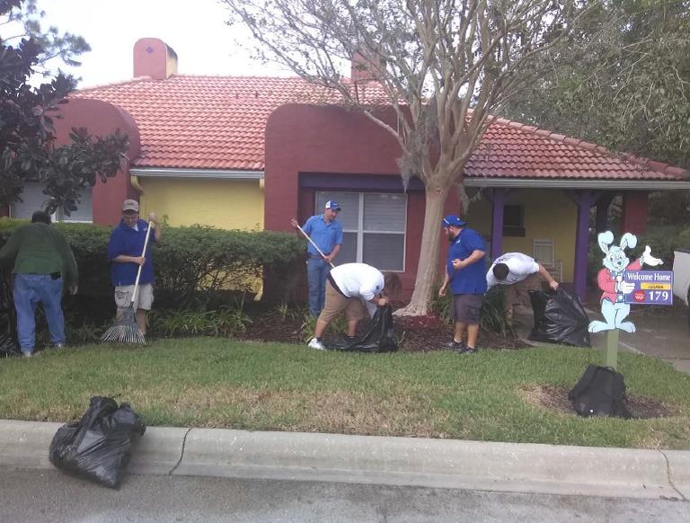 APWA Give Kids the World Landscaping Day
