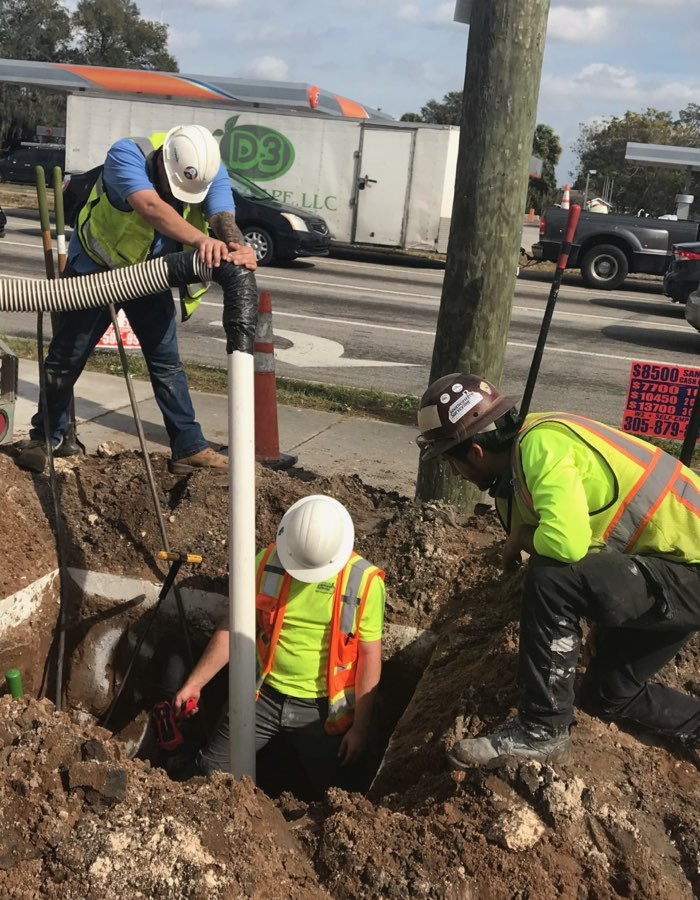 Subsurface Utility Engineering (SUE) Services